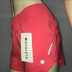 "ATHLETA Racer Run Shorts 4.5"" Inseam"
